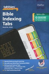 Bible Tabs, Seaside Colors