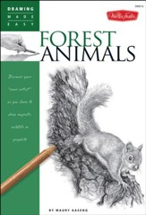 Drawing Forest Animals: Learn to Draw Majestic Wildlife Step by Step