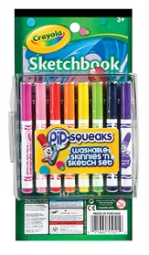 Pip-Squeaks ® Skinnies 'n Sketch Set