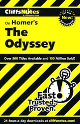 CliffsNotes on Homer's Odyssey