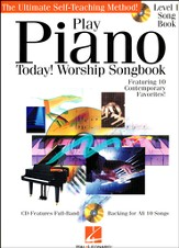 Play Piano Today! Worship Songbook (Book/CD)
