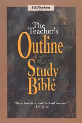 Teacher's Outline & Study Bible KJV: Philippians