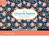 2017 Living Life Together Family Wall Planner