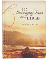 365 Encouraging Verses of the Bible: A Journal