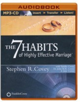 The 7 Habits of Highly Effective Marriage - unabridged audiobook on MP3-CD
