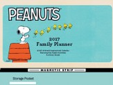 2017 Peanuts Family Wall Planner