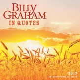 2017 Billy Graham In Quotes Wall Calendar