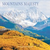 2017 Mountains Majesty Wall Calendar