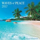 2017 Waves Of Peace Wall Calendar