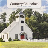 2017 Country Churches Wall Calendar