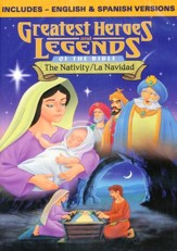 The Nativity (English/Spanish Combo), DVD