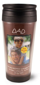 Dad Photo Mug Travel Tumbler