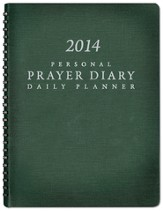 2014 Prayer Diary - Green