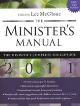 The Minister's Manual, 2011 Edition with CD-ROM