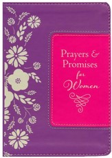 Prayers & Promises for Women--imitation leather