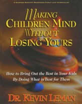 Making Children Mind Without Losing Yours--DVD Curriculum