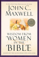 Wisdom from Women in the Bible, Large-Print