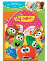 VeggieTales Puzzle and Coloring Pad