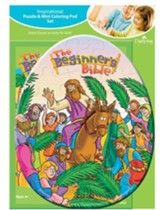 Beginner's Bible Puzzle and Coloring Pad