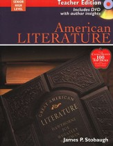 American Literature, Teacher's Edition with DVD