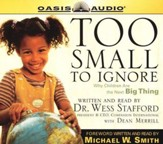 Too Small to Ignore - audiobook on CD