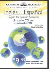 Ingles al Espanol (English to Spanish) -  audiobook on CD