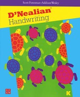 D'Nealian Handwriting Book K
