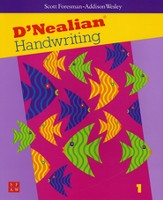 D'Nealian Handwriting Book 1