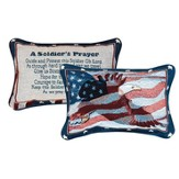 A Soldiers Prayer Pillow