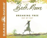 Breaking Free Day by Day - audiobook on CD