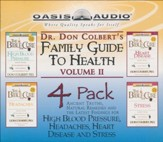 Dr. Colbert's Family Guide to Health 4-Pack, Vol 2 - audiobook on CD