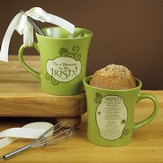 Tis A Blessing To Be Irish Mug with Whisk - Slightly Imperfect