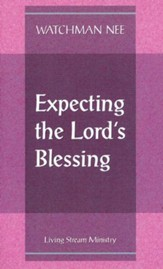 Expecting the Lord's Blessing 10/Package