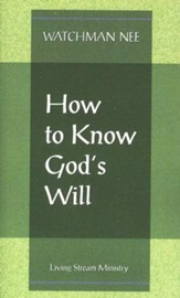How to Know God's Will  10/Package