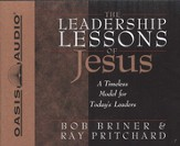 Leadership Lessons Of Jesus Audiobook on CD