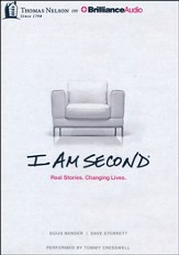 I Am Second: Real Stories. Changing Lives. - unabridged audiobook on MP3-CD