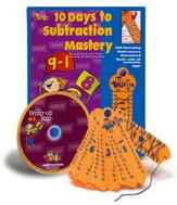 10 Days to Subtraction Mastery with Wrap-Ups & CD
