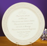 Irish Wedding Plate