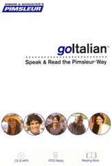 goItalian: Speak and Read the goPimsleur Way