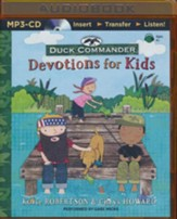 Duck Commander Devotions for Kids - unabridged audio book on MP3-CD