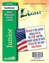 The Light Junior (Grades 5-6) Mini Memory Verse Cards
