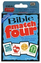 Bible Match Four Bible Story Card Game