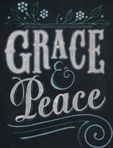 Grace & Peace, Blank Note Cards, Pack of 10