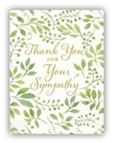 Thank You For Your Sympathy Cards, Pack of 10