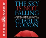 The Sky is Not Falling Unabridged Audiobook on CD