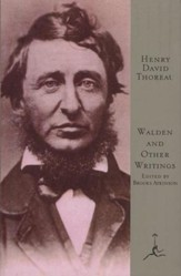 Walden and Other Writings of Henry David Thoreau, Vol. 0000