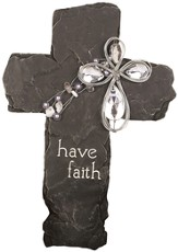 Have Faith Beaded Cross