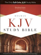 KJV Study Bible, Full-Color Hardcover