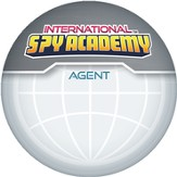 International Spy Academy Iron-On Logo, Pack of 10
