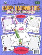 Happy Handwriting Just for Journals, Gr. K-6